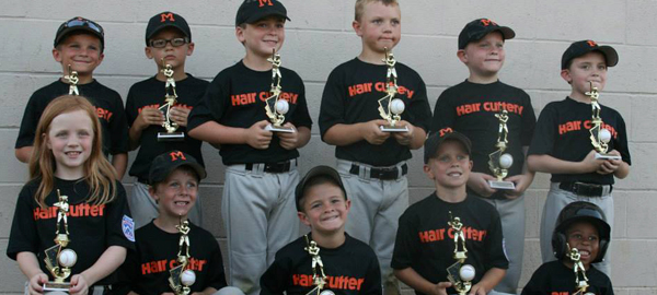 Hair Cuttery Youth Baseball Team