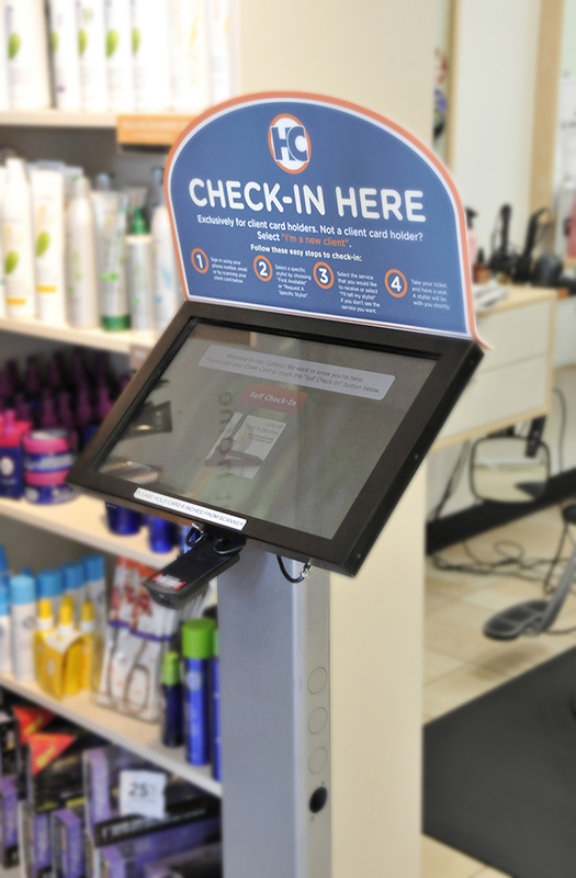 Guest check-in kiosk