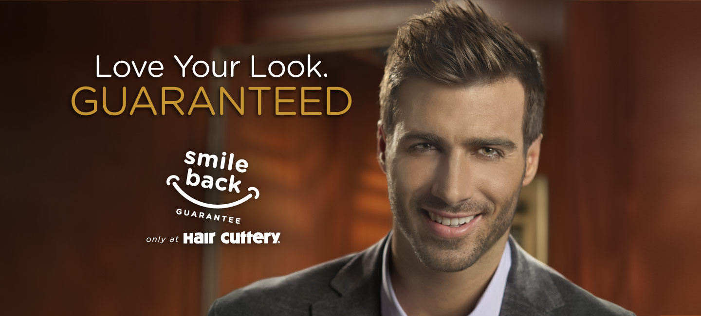 Experience the Smile Back Guarantee only at Hair Cuttery