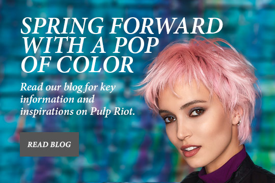 Spring Forward with a Pop of Color - Read our blog for key information and inspirations on Pulp Riot.