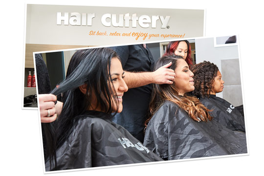 See What Our Guests Say Hair Cuttery Logo