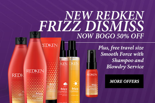 Dazzling Shine every TIME - Try REDKEN® Shades EQ Clear Shine Bomb for $20  with any Style Service