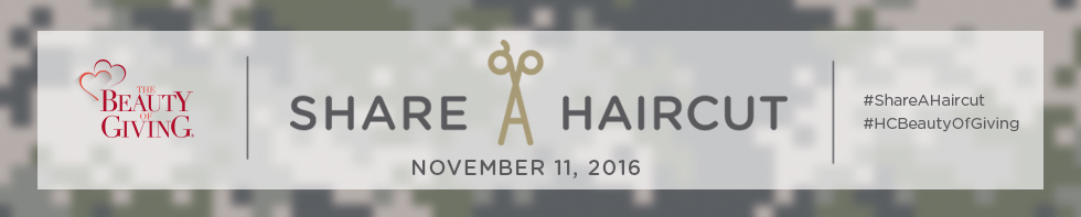 Share-A-Haircut for Veterans Header Image