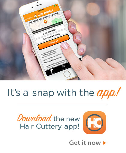 Hair Cuttery Mobile App