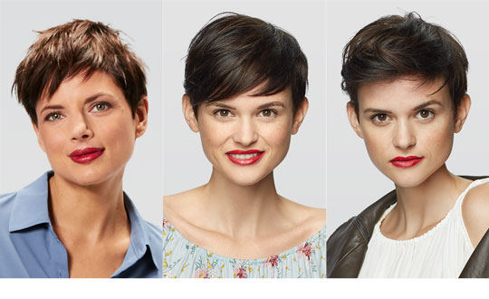 Pixie Spring Hairstyle Outtakes